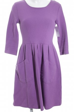 Whistles Sweatkleid lila Casual-Look