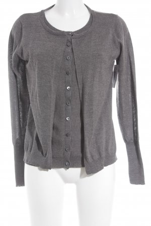 Whistles Strick Cardigan grau Casual-Look