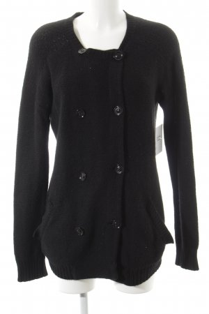 Whistles Strickjacke schwarz Casual-Look