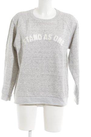 Whistles Sweatshirt Schriftzug gedruckt Casual-Look