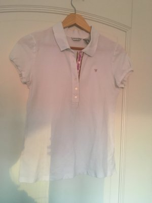 American Eagle Outfitters Polo shirt wit