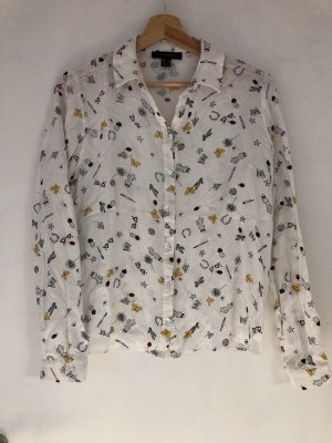 white bluse muster 38