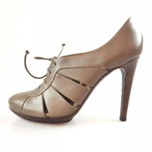 Bottega Veneta High-Heeled Sandals white