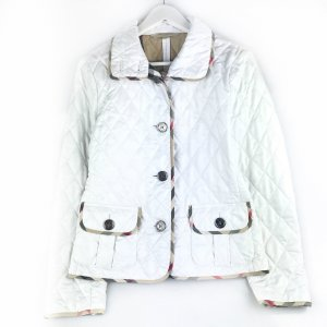 White  Burberry Jacket