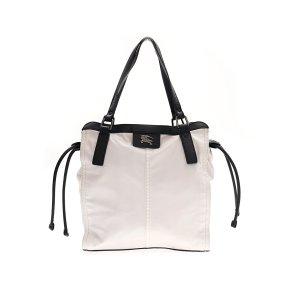 White  Burberry Shoulder Bag