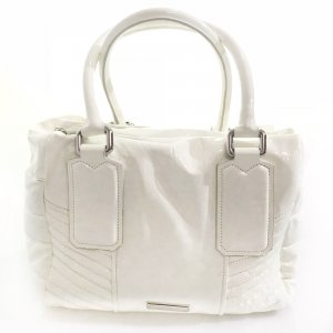 White  Burberry Shoulder Bag
