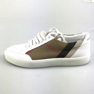 White  Burberry Sneaker