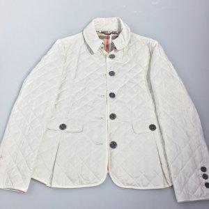 White  Burberry Trench Coat