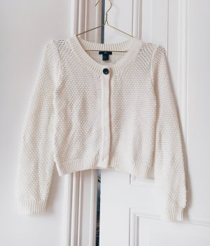 White cardigan H&M