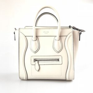 White  Celine Cross Body Bag