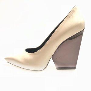 White  Celine High Heel