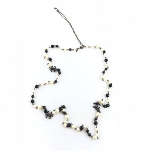 White  Chanel Necklace