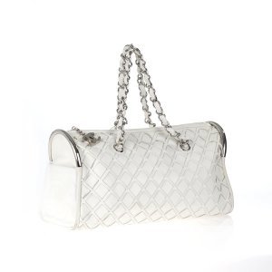 White  Chanel Shoulder Bag