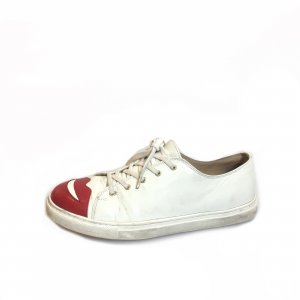 White  Charlotte Olympia Sneaker