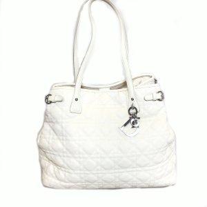 White  Christian Dior Shoulder Bag