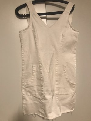Cato Denim Dress natural white-white