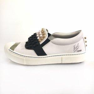 White  Fendi Sneaker