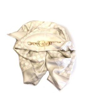 White  Gucci Scarf