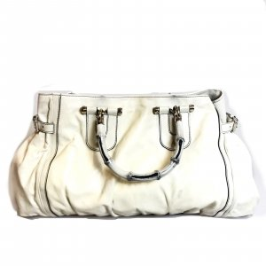 White  Gucci Shoulder Bag