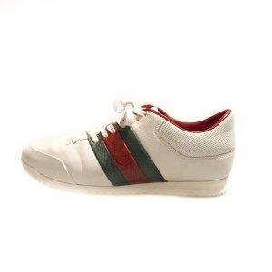White  Gucci Sneaker