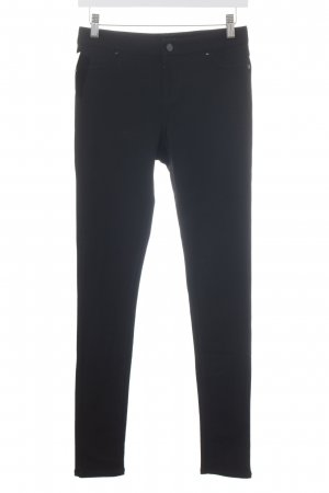 White House Black Market Stoffhose schwarz Casual-Look