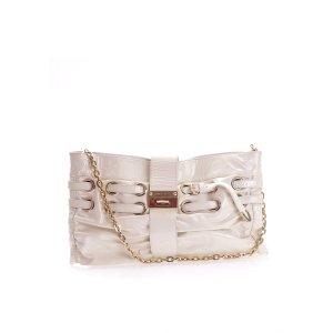 White  Jimmy Choo Shoulder Bag