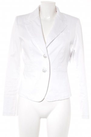 White Label Kurz-Blazer weiß Business-Look