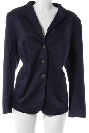 White Label Long-Blazer dunkelblau Business-Look