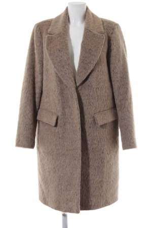 White Label Wollmantel camel Casual-Look