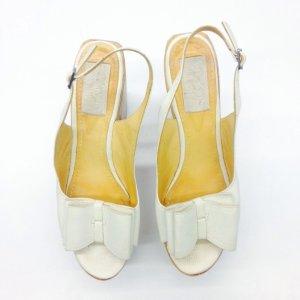 White  Lanvin High Heel