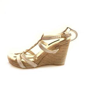 Louis Vuitton High-Heeled Sandals white