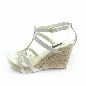 White  Louis Vuitton High Heel