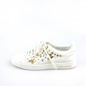 White  Louis Vuitton Sneaker
