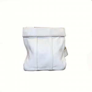 White  Prada Cross Body Bag