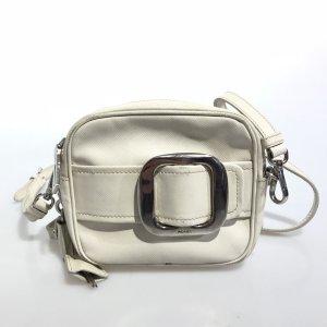White  Prada Cross Body Bag