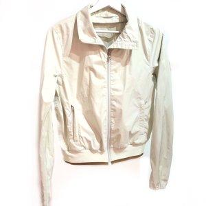 White  Prada Rain Coat