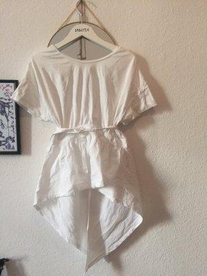 Zara Wraparound Shirt white