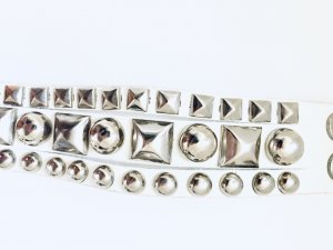 White Silver Armband
