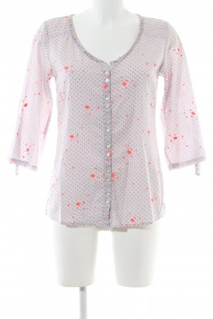 White Stuff Hemd-Bluse Allover-Druck Casual-Look