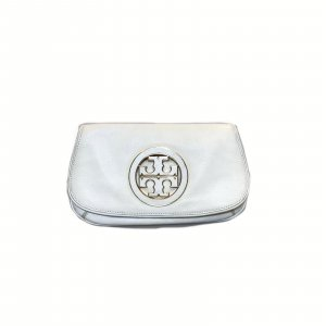 White  Tory Burch Clutch