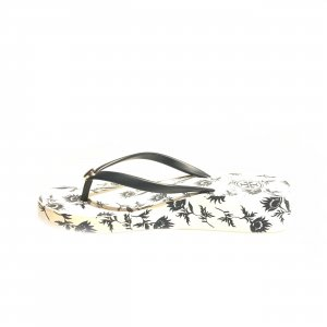 White  Tory Burch Flip Flop