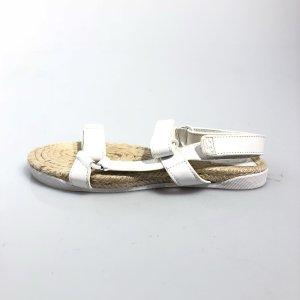 White  Tory Burch Sandal