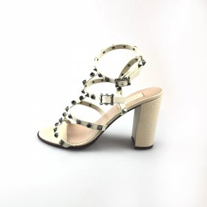 White  Valentino High Heel
