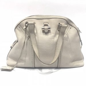 White  Yves Saint Laurent Shoulder Bag