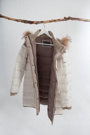 White Label Abrigo de plumón multicolor