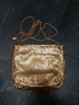 Whiting & davis Mini sac doré