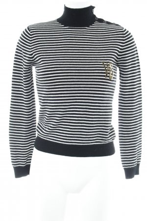 Who's'Who Strickpullover Streifenmuster Casual-Look