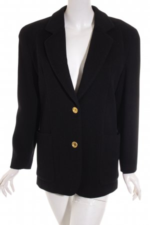 Who's Wool Blazer black-gold-colored elegant