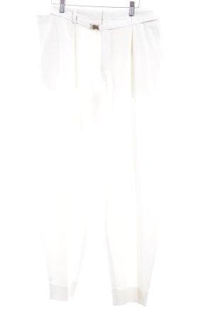 WHYRED Pantalon de costume blanc cassé élégant