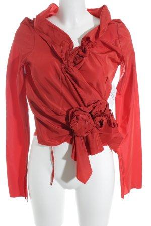 Wickel-Bluse rot Elegant